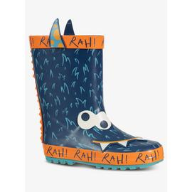 Blue & Orange Monster Wellies