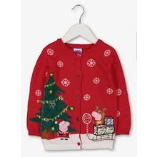 Christmas Peppa Pig Red Cardigan
