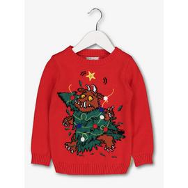 Christmas The Gruffalo Red Tree Jumper
