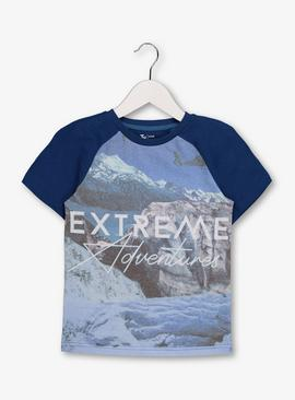 Blue 'Extreme Adventures' T-Shirt