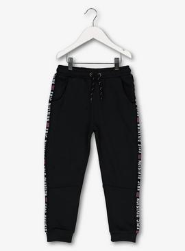 Black 'Epic Division' Fashion Joggers