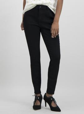 Online Exclusive Black Skinny Fit Stretch Jeans