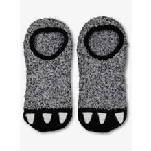 Grey Monster Footsie Cosy Socks