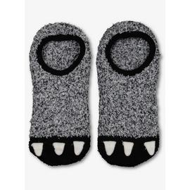 Grey Monster Footsie Cosy Socks