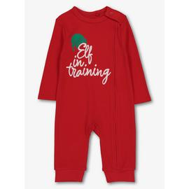 Christmas Family Red Elf Romper