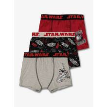 Star Wars Grey & Red Trunks 3 Pack