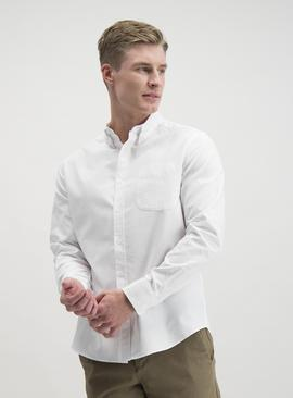 White Plain Oxford Regular Fit Shirt
