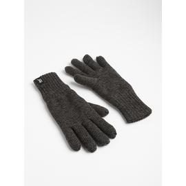 SOCKSHOP HEAT HOLDERS Charcoal Grey Gloves