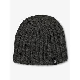 SOCKSHOP HEAT HOLDERS Charcoal Grey Knitted Beanie Hat - One