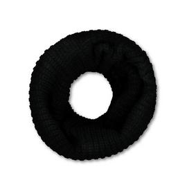 SOCKSHOP HEAT HOLDERS Black Knitted Neck Warmer - One Size