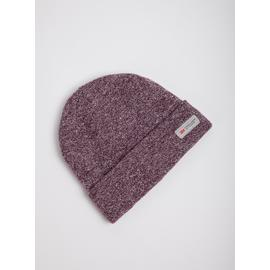 THINSULATE Burgundy Fleck Beanie Hat - One Size