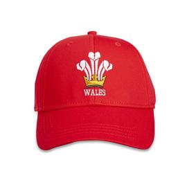 Wales Rugby Union Red Cap - One Size