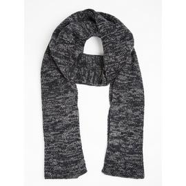 TOASTIES BY TOTES Charcoal Grey Twist Scarf - One Size