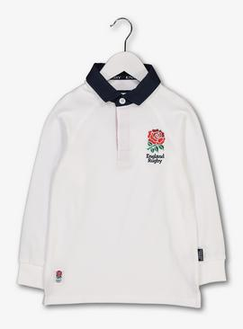 Rugby England White Shirt