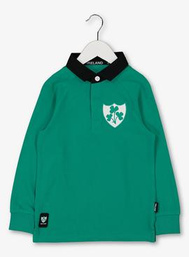 Ireland Rugby Green Top