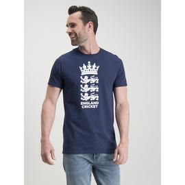 We Are England Cricket Navy Crew Neck T-Shirt