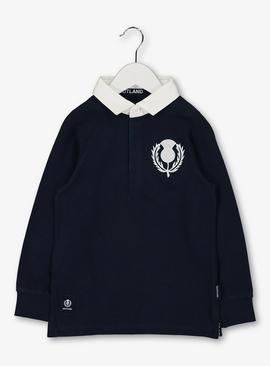 Scotland Rugby Navy Top