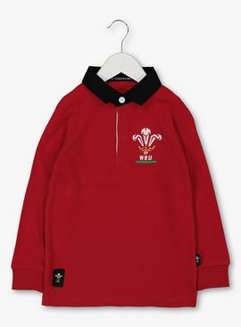 Wales Rugby Red Top