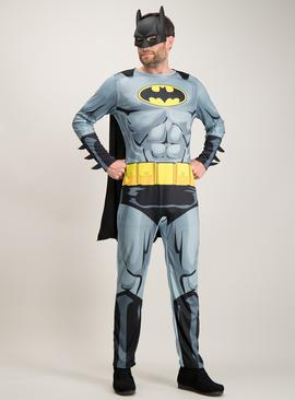 Batman Black & Grey Costume With Mask