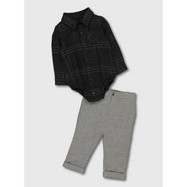Grey Body & Trousers Set