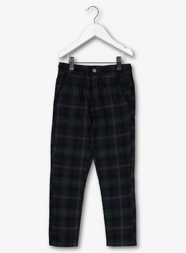 Multicoloured Check Trousers