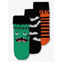 Halloween Multicoloured Socks 3 Pack