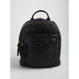 Black Washed Backpack - One Size