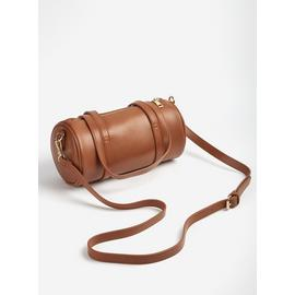 Tan Barrel Bag - One Size