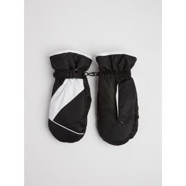 Online Exclusive Black Ski Mittens - One Size