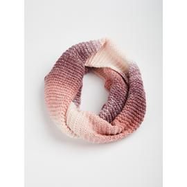 Pink Ombre Knit Snood - One Size