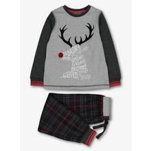 Christmas Grey Reindeer Pyjamas