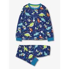 Blue Yeti & Dinosaur Pyjamas In A Bag