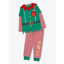 Christmas Multicoloured Elf Pyjamas