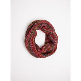 Multicoloured Knitted Snood - One Size