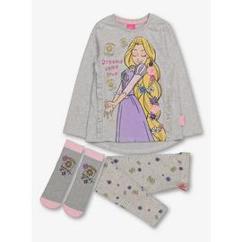 Disney Princess Grey Pyjamas & Socks