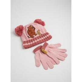 The Gruffalo Pink Hat & Gloves Set