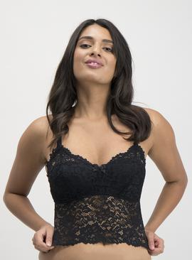 Black Lace Brami Top