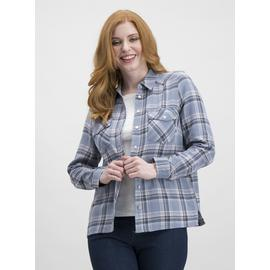Pale Blue Check Long Sleeve Shirt
