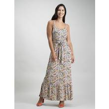 Multicoloured Ditsy Print Floral Maxi Dress