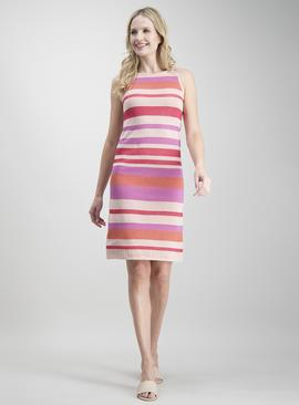 Online Exclusive Multicoloured Stripe Dress