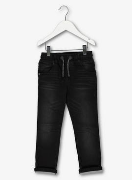 Charcoal Jeans With Stretch