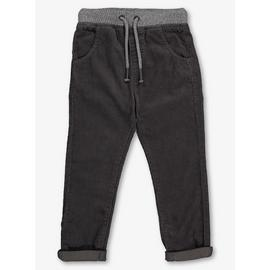Charcoal Grey Corduroy Trousers