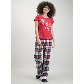 Christmas Family 'Merry Elf' Red Pyjamas