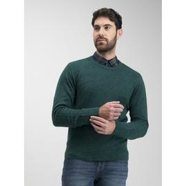 Green Soft Touch Crew Neck Jumper