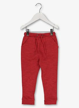 Red Marl Star Joggers