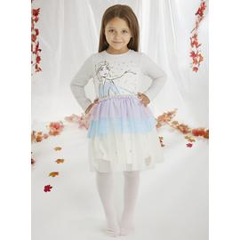 Disney Frozen 2 Grey Elsa Tutu Dress