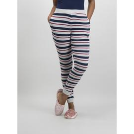 Multicoloured Stripe Cuffed Pyjama Bottoms