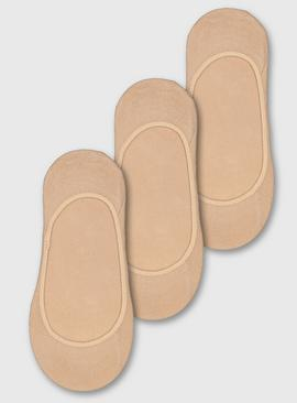 Nude Footsie 3 Pack