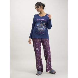 Christmas Harry Potter Navy & Burgundy Pyjamas