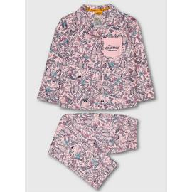 The Gruffalo Pink Woodland Woven Pyjamas